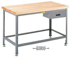 BUTCHER BLOCK TOP TABLES