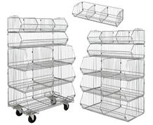 MODULAR STACKING BASKETS