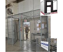 WOVEN WIRE MESH SECURITY CAGES